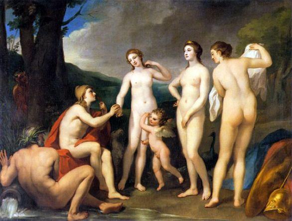 Juicio de París por Mengs. (1757)