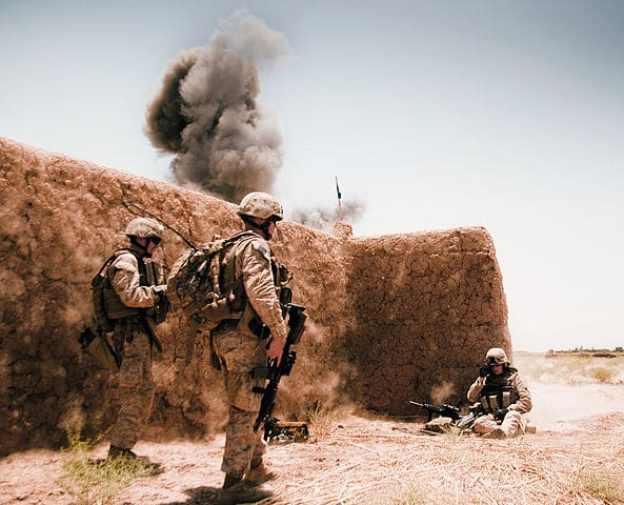 Militares estadounidenses en Afganistan