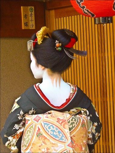 Geisha ropa