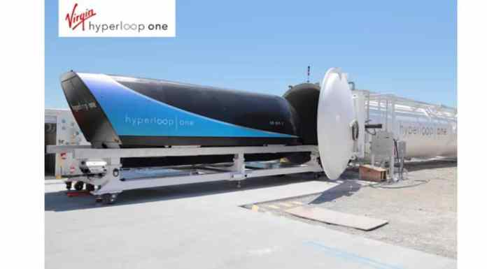 Hyperloop One en ces 2018