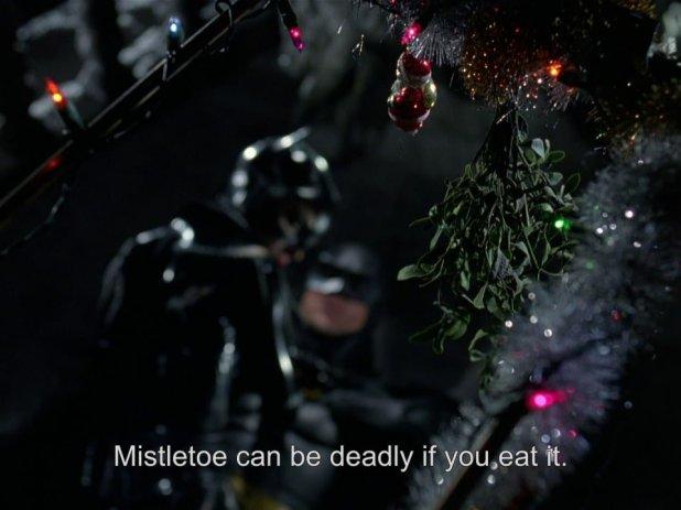 Muérdago, Batman