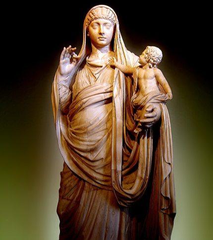 Mesalina y su hijo británico