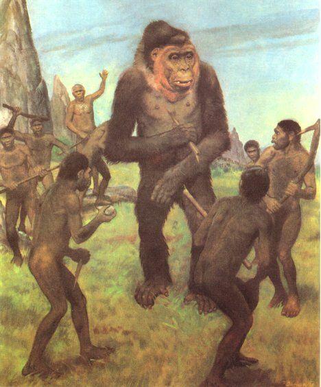 extincion de gigantopithecus