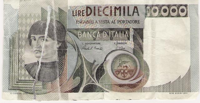 billete de maquiavelo