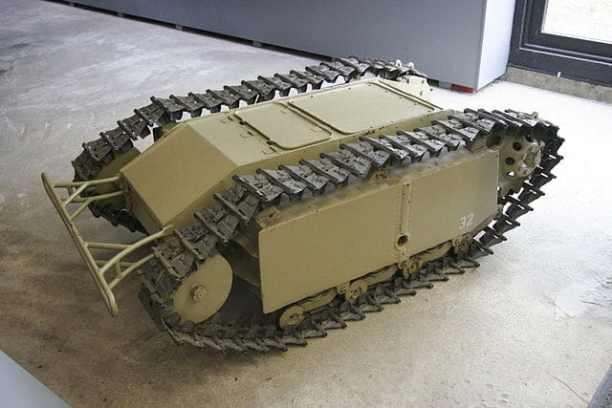 tanque autoexplosivo aleman