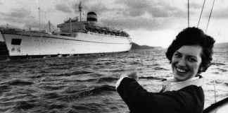 sovietica que se lanzo de un barco