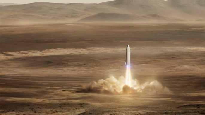 BFR el cohete del futuro