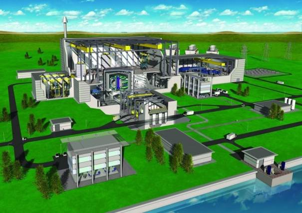 reactor de un diseño de fusion