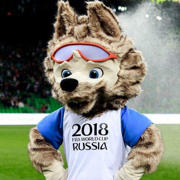 mascota del mundial 2018