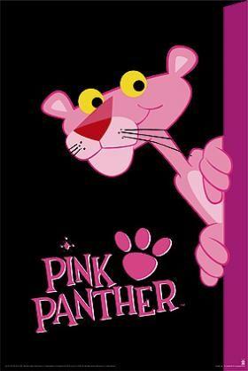 Pantera Rosa Caricatura
