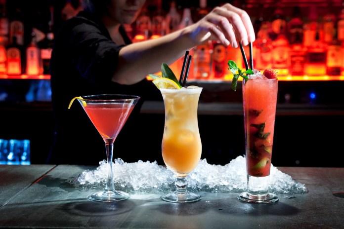 cócteles bartenders