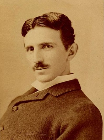 foto famosa de Tesla