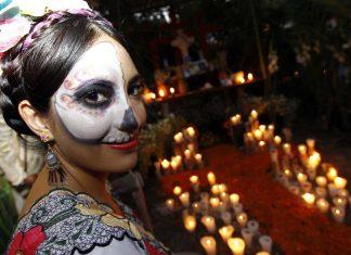 celebración Día de los muertos