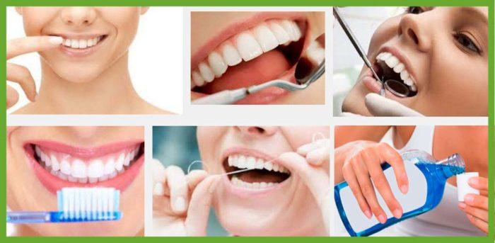 pasos para tener higiene bucal