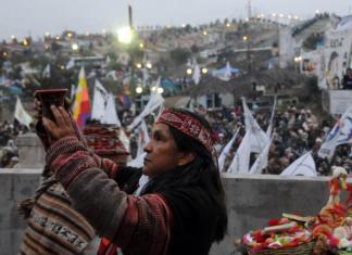año nuevo indígena We Tripantu