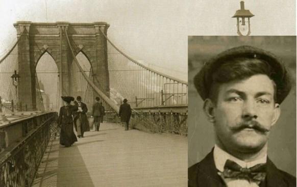 demostración del puente y autor de estafa