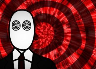 hombre hipnotizado