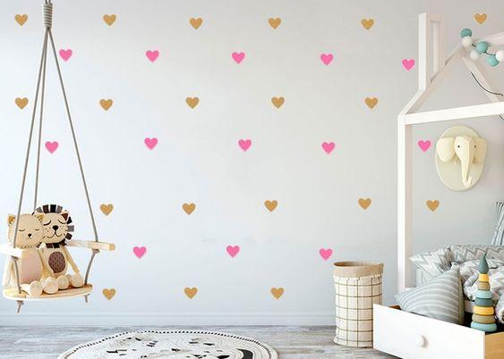 pared de corazones 51