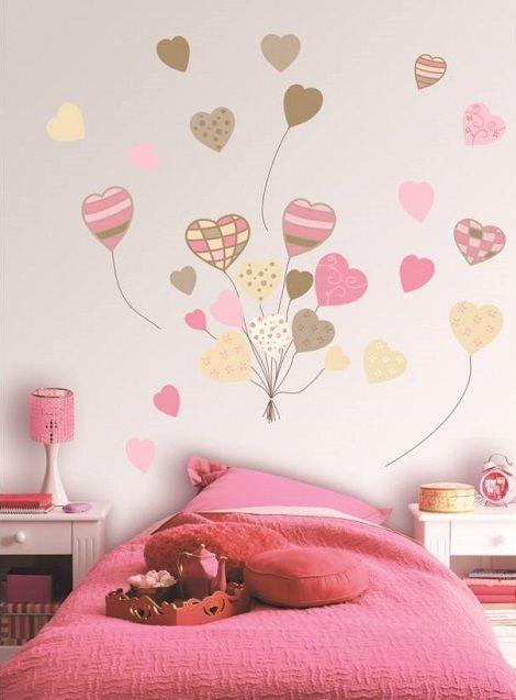 pared de corazones 52