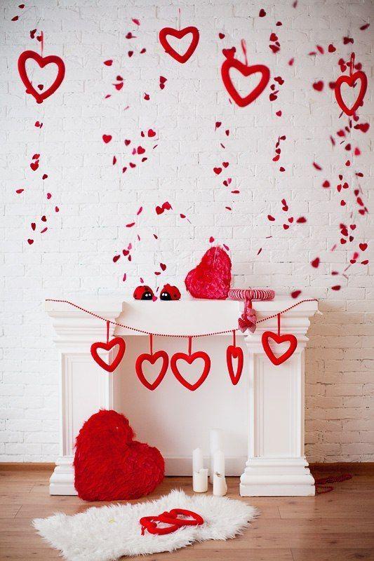 pared de corazones 66