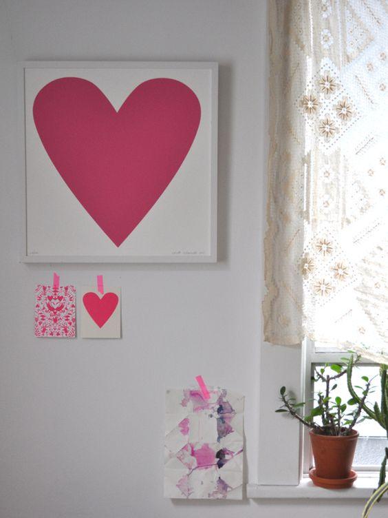 pared de corazones 67