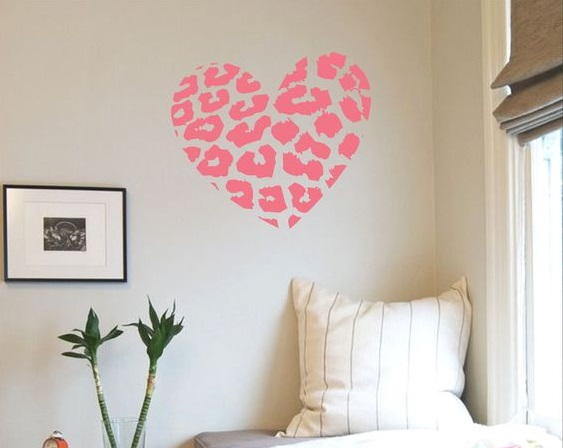 pared de corazones 75