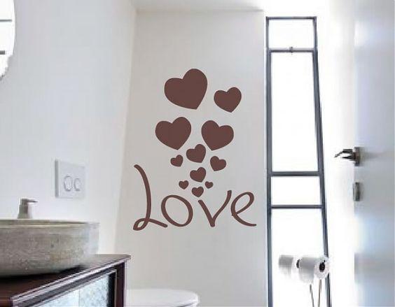 pared de corazones 88