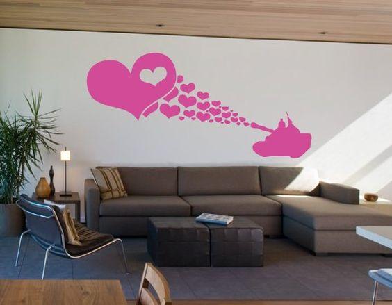 pared de corazones 94