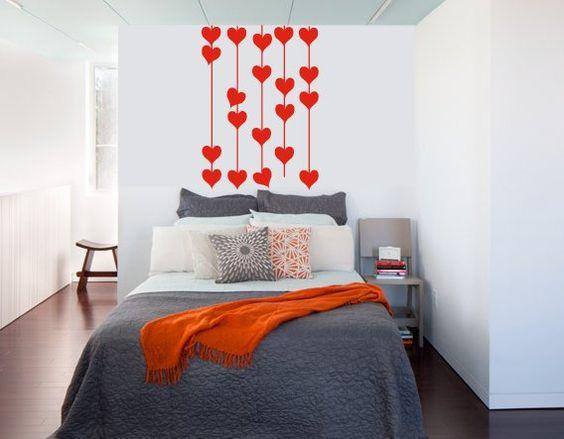 pared de corazones 96