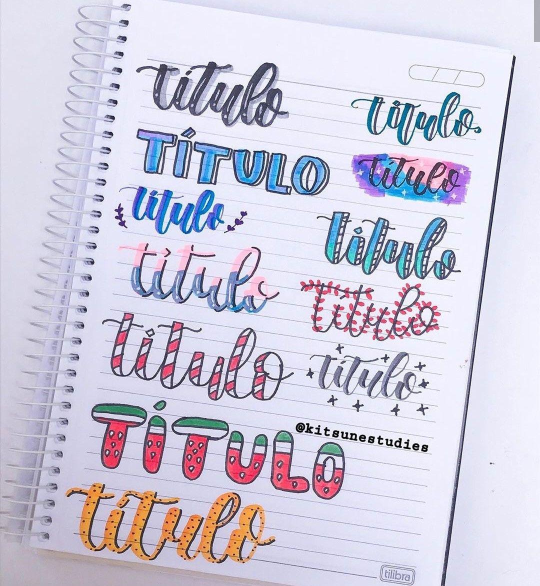 titulos creativos a color 1