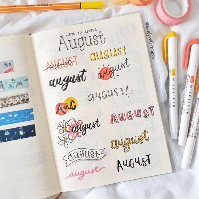 titulos de agosto