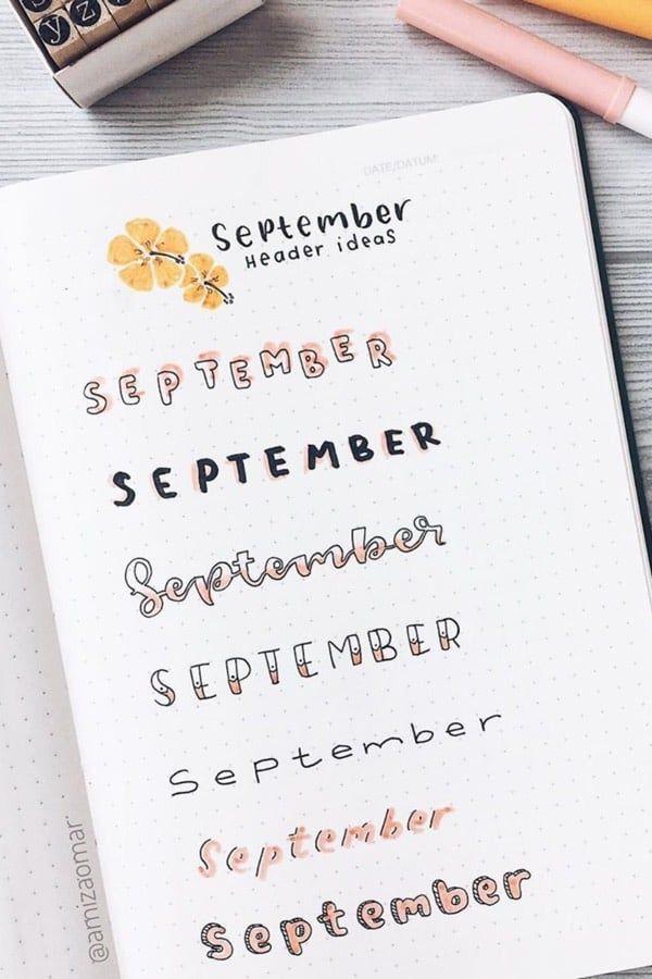 titulos de septiembre