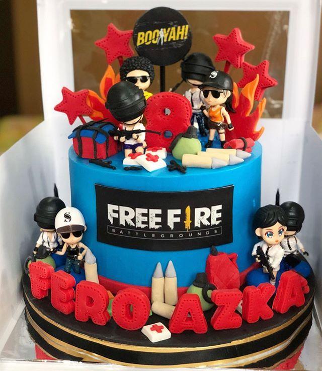 Ideas de tortas de Free Fire