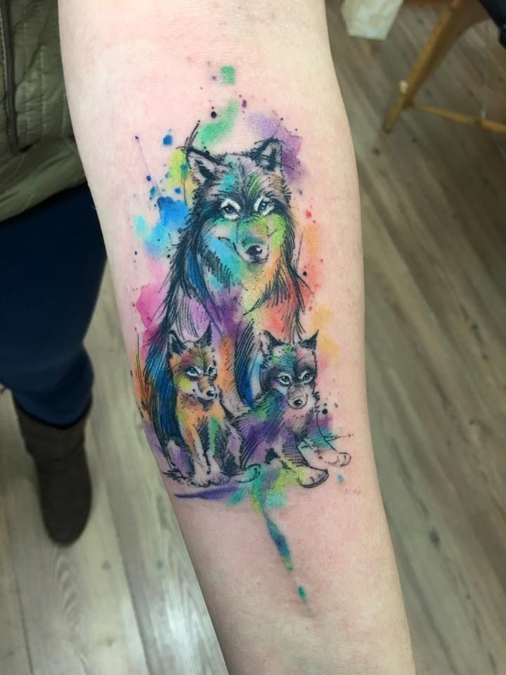 Tatuajes coloridos 20