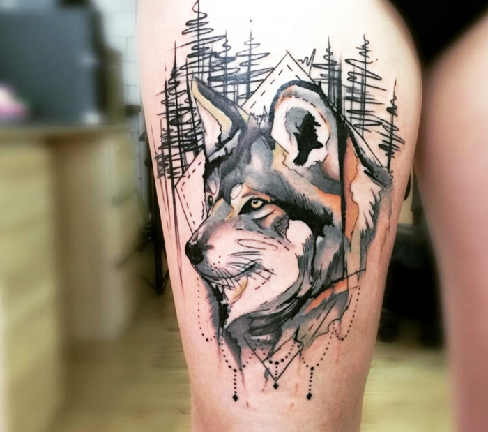 Tatuajes mixtos 11