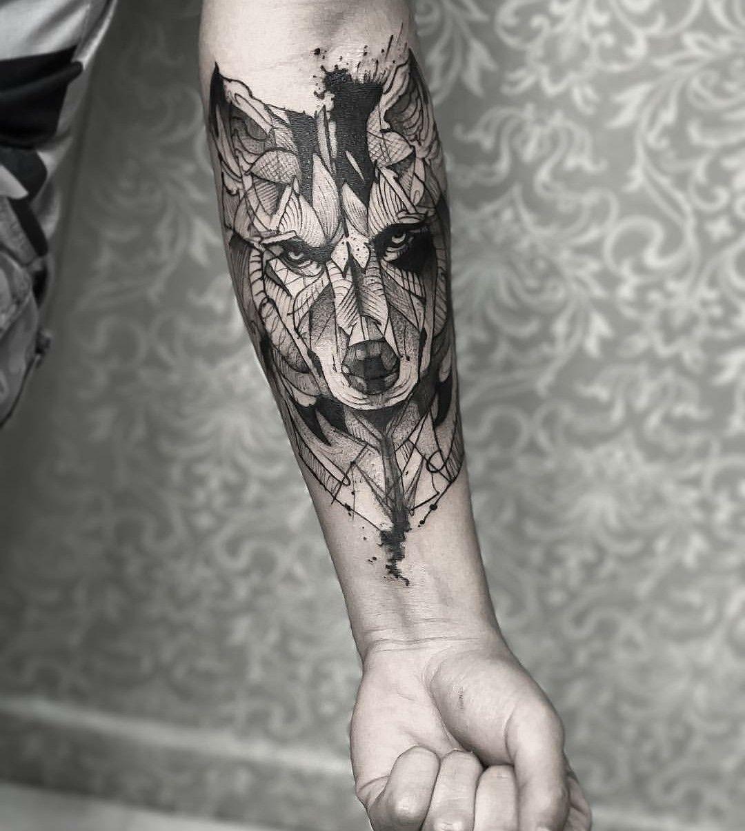 Wolf tattoo 13 1