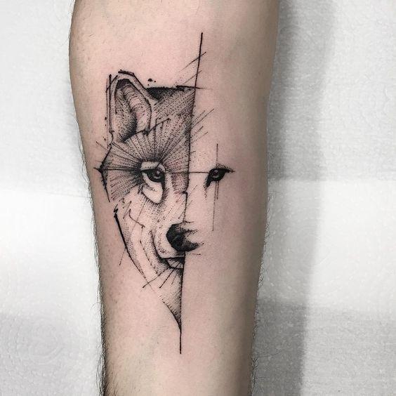 Wolf tattoo 14 1