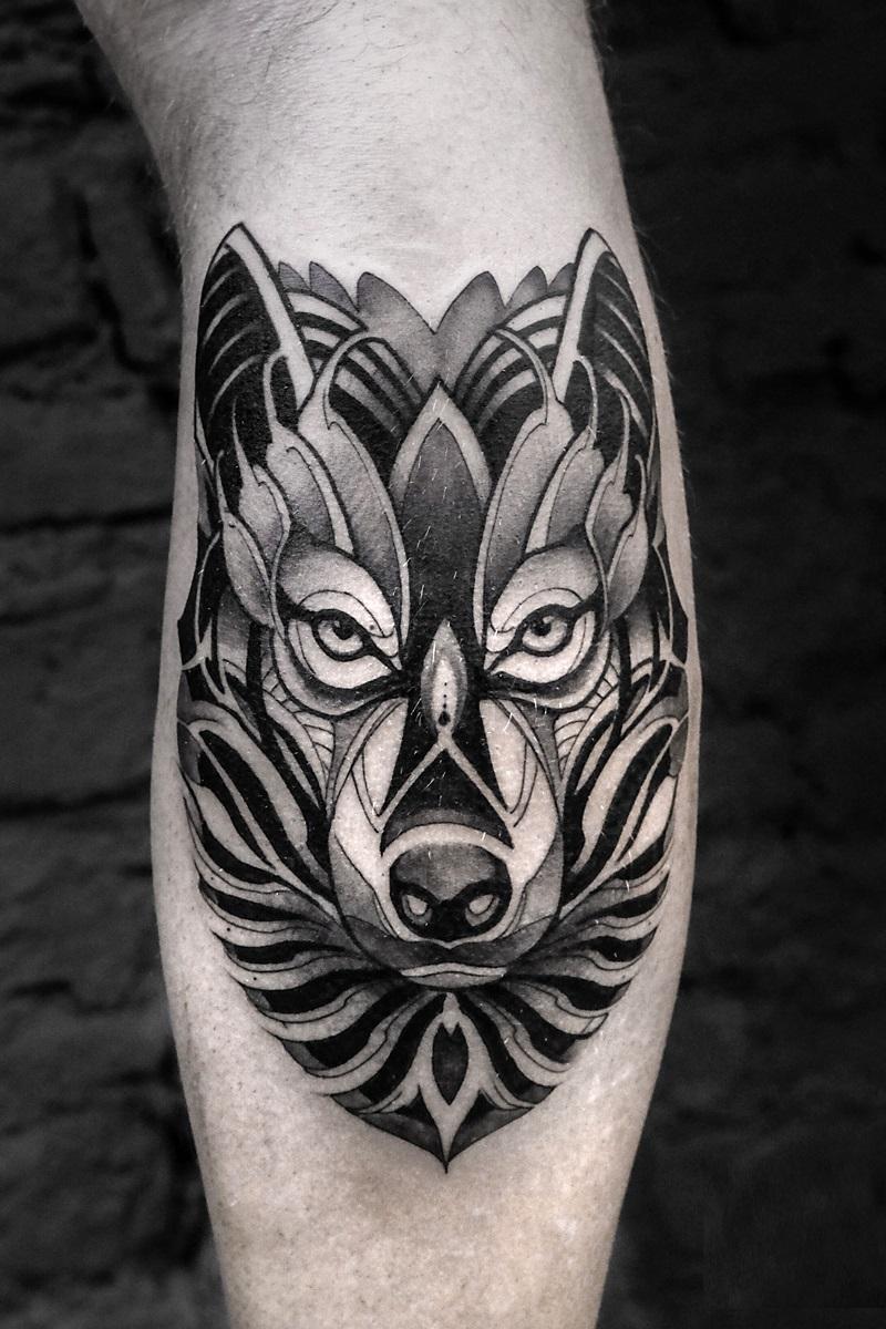 Wolf tattoo 21 1