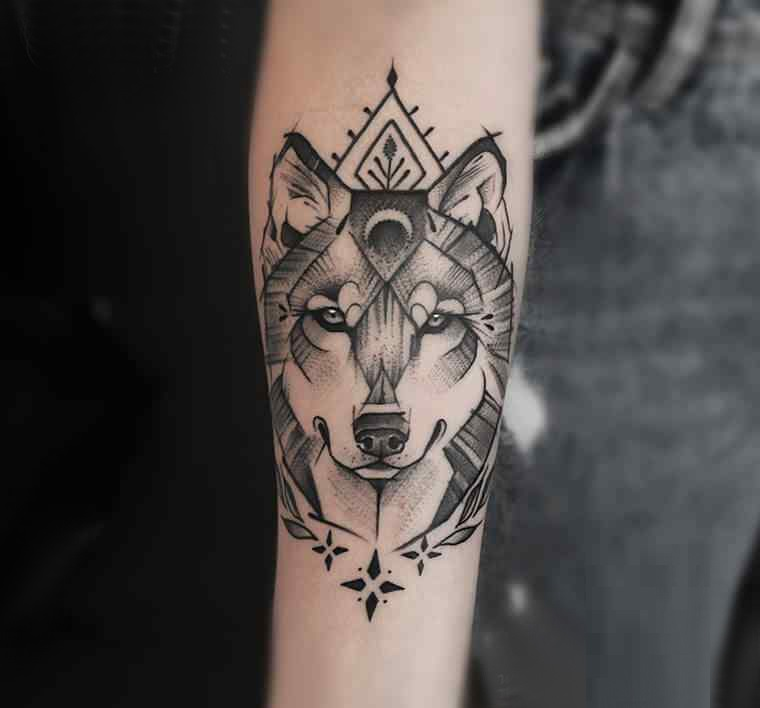 Wolf tattoo 24 1
