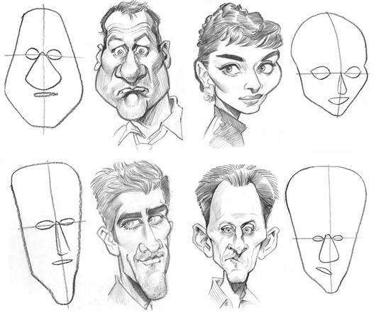 Garabato caricaturezco 2