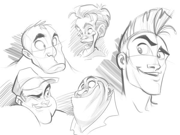 Garabato caricaturezco 6
