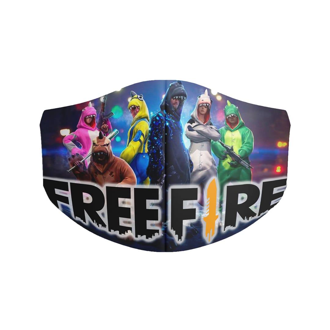 mascarilla free fire 25 1