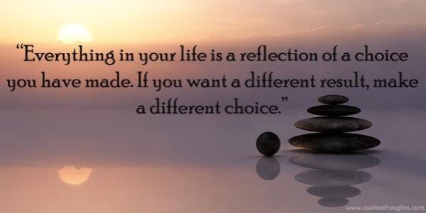 Nice Life Quotes Thoughts Life Choices Reflection Of Life Different