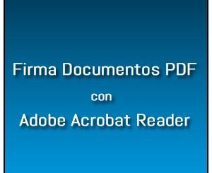 Firma Adobe Reader