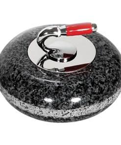 """Miniature Granite Curling Rock 3.5"""" Diameter"""