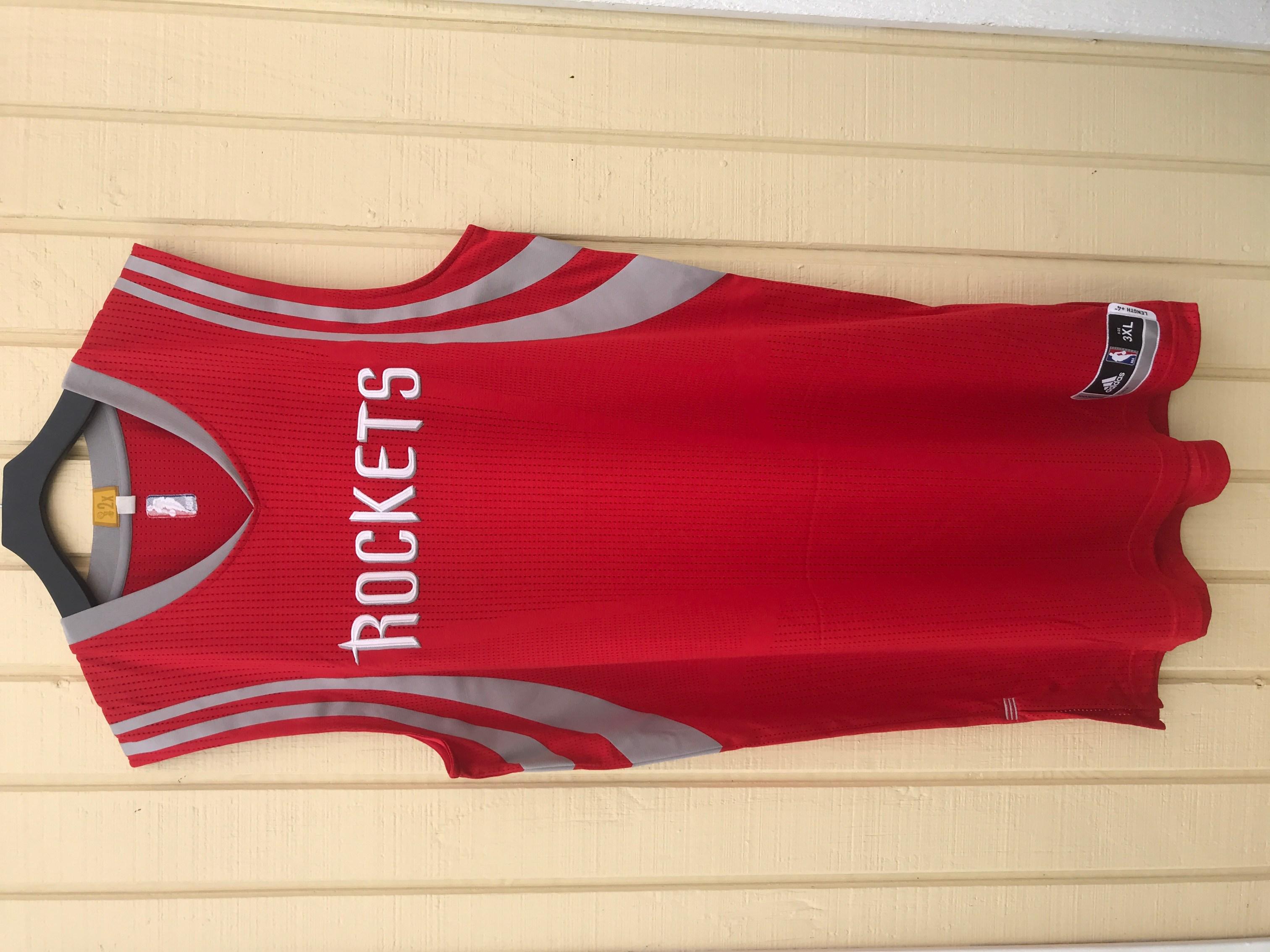 6aa92010ebc Houston Rockets adidas Rev30 Blank Road Red NBA Basketball Jersey  (2015-2017)