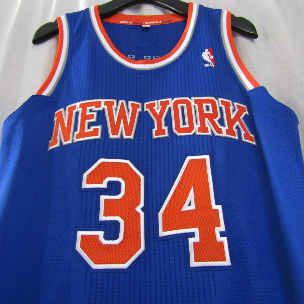 94c5afdd006 New York Knicks NYK  32 Charles Oakley Custom NBA adidas rev30 On Court Road  Jersey