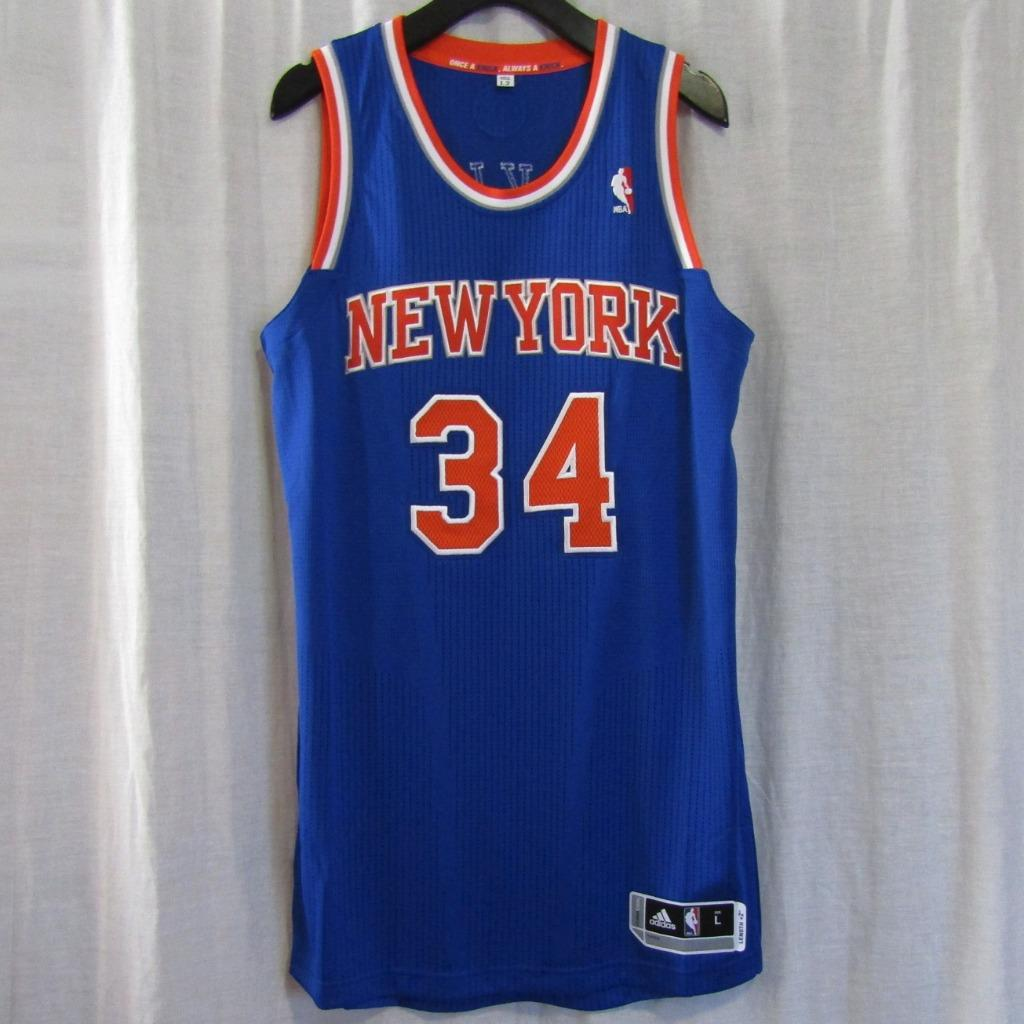 brand new 88944 3d6d3 New York Knicks NYK #32 Charles Oakley Custom NBA adidas rev30 On Court  Road Jersey