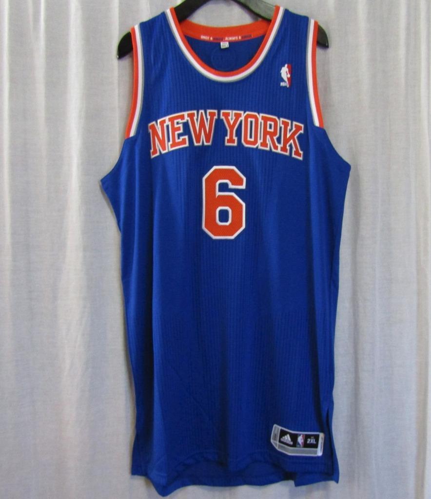 5e4c6cc1b00 New York Knicks NYK #6 Tyson Chandler NBA adidas rev30 On Court Road Jersey