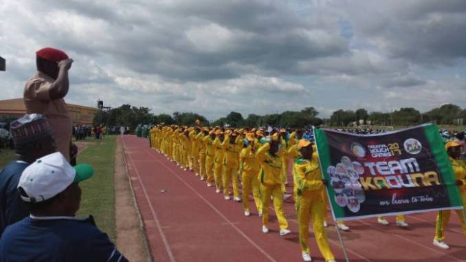 National Youth Games: Team Kaduna Steals Show At March Past As Games Opens